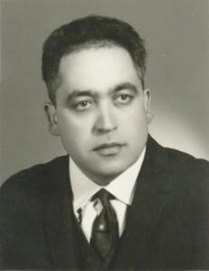 سید پرویز حبیبی رییس دبیرستان پهلوی
