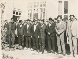 کادردبیرستان مهرگان درسال۱۳۴۴