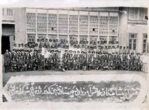 دانش آموزان پیش آهنگ دبیرستان تدین در سال 1318